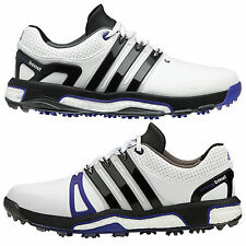 ADIDAS MENS LH ASYM ENERGY BOOST GOLF SHOES - NEW LEATHER WATERPROOF GRIPMORE