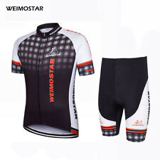 WEIMOSTAR Men Cycling Jerseys Bicycle Wear Breathable T-shirt Outdoor Bib Shorts