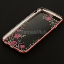 Floral Flowers Pattern Soft Back Protective Bumper Case for iPhone 6 iPhone 6s