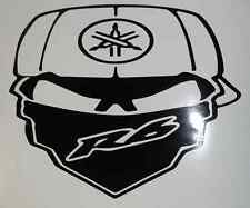 R6 YAMAHA MOTORCYCLE SKULL STICKER DECAL