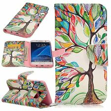 Life Tree Patterns Design Case for LG Samsung iPhone Various Phones Wallet Cover