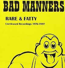 Rare & Fatty: Unreleased Recordings 96-97 - Bad Manners CD-JEWEL CASE