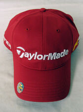 Taylor Made Tour Radar Hat (Relaxed, RED, Adjustable, R9, Burner) Golf Cap NEW