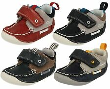 'Infant Boys Clarks' Square Front First Cruiser Shoes - Cruiser Deck