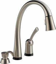 Delta 980T-SSSD-DST Pilar Single Handle Pull-Down Kitchen Faucet with Touch2O