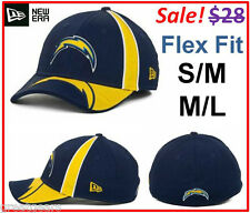 San Diego Chargers Adult NFL New Era 39Thirty Flexfit Fitted Football Hat Cap