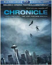 Chronicle (Blu-ray/DVD, 2012, 2-Disc Set, The Lost Footage Ed. No Digital Copy