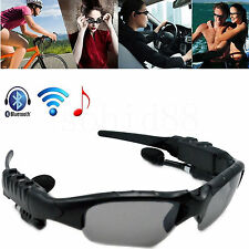 Wireless Bluetooth Headset Stereo Music Sunglasses Headphone For Mobile Phone PC