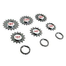 Fixie Bicycle Sprocket Fixed Gears Single Speed Cog Threaded Locks Rings