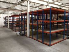 4 Tier Industrial Warehouse Bay Rapid Racking Shelving Unit (6.5ft x 8ft x 2ft)