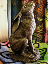 MOON GAZING HARE STATUE FIGURE Ornament PAGAN WICCAN Nature GODDESS CELTIC