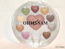 1 NEW MULTICOLOR SHIMMERY  EYESHADOW COMPACTMIRROR /APP CD SHAPED