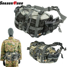 Outdoor Camouflage Shoulder Bag Tactical Backpack Bionic Camping Hunting Pouch