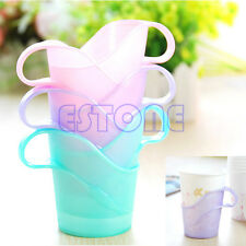 6Pcs Fashion Plastic Disposable Paper Cup Mug Holder Heat Cold Insulation