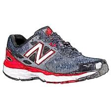 New Balance 680 V3 - Men's Running Shoes (Space/Chinese Red Width:Medium)