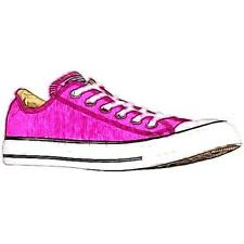 Converse All Star Ox - Women's Basketball Shoes (Plastic Pink Width:Medium)
