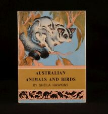 1962 Australian Animals and Birds Sheila Hawkins Colour Autolithographs