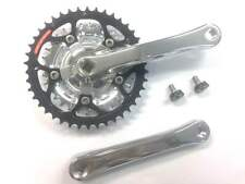 Shimano STX MC34 Triple Chainset | 7 Speed | Square Tapered | Inc. Crank Bolts