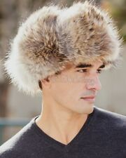 The Coyote Fur Russian Trooper Hat -Brand: frr -Made in Canada