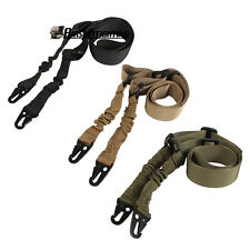 Hunting Two Points Bungee Tactical Rifle Sling Gun Strap Belt Military Camping
