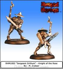 Fantization Rusted Heroes Knights of the Rose Sergeant Grillium Pack MINT