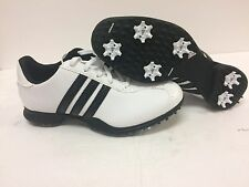 New Adidas Driver May S Golf Shoes White/Black 675181