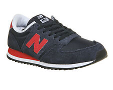 Mens New Balance 420 NAVY RED Trainers Shoes