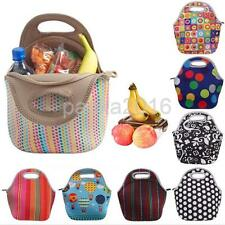 Preservation Neoprene Tote Bag Insulated Lunch Bag Cool Bag with Zip and Handles