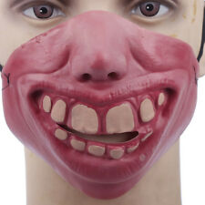 Scary Horrible Clown latex Mask Halloween Party Cosplay Costume Half Face Masks