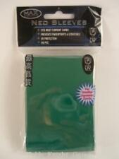 Max Protection Card Protection Small Sleeves - Green (60) MINT