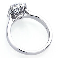 7mm Platinum Plated Silver 1.25ct CZ Side Stone Deco Wedding Engagement Ring set