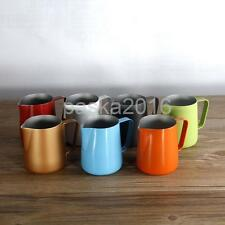 Stainless Steel Milk Frothing Jug Pitcher Coffee Expresso Latte Jug 350/600ML