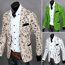 New Fashion Men Casual Slim fit One Button Suit Blazer Coat Jackets Outwear Tops