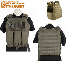 1PC 1000D Tactical SPC Molle Combat Plate Carrier Vest Military Airsoft Hunting