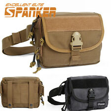 1000D Molle Tactical Waist Bag Chest Pouch Utility Outdoor Sports Shoulder Bag