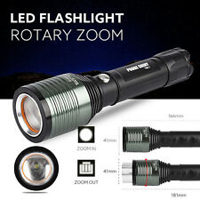 5000LM CREE XML Q5 LED 18650 Flashlight Torch Lamp Light Zoomable 3 Mode lot