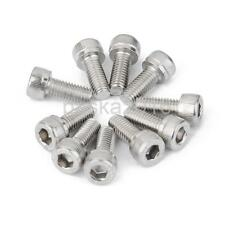 10 x Stainless Steel Screws Hexagon Cap Head Socket Allen Key Thread Bolt Pick