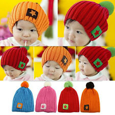Children New Accessories Toddler Baby Infant Cap Winter Boys Girls Hat Warm 1pcs