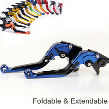 Folding Extendable Brake Clutch Levers For BMW F800R 2009-2014 2013 2012 2011 10