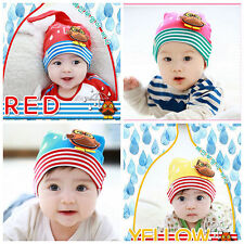 Knitted Cap Baby Kids Boys Girls Hat Cartoon Beanie Infant Cute Cotton Toddlers