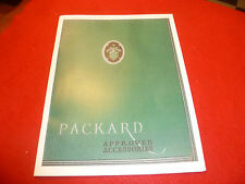1930 Packard accessory catalog