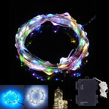 3.5M 30LED Battery Operated Mini LED Waterproof Copper Wire String Fairy Lights