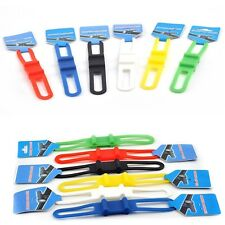 5X Cycle Bike Bicycle Silicone Strap Bandage Phone Light Pump Tool Bottle Holder