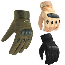 Tactical Hard Knuckle Gloves Combat Full Finger for Men Sports Airsoft Paintball
