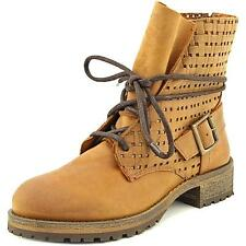 Jeffrey Campbell Perforated Lace Up Combat Ankle Boot Women NWOB 5715