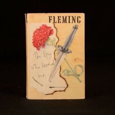 1962 The Spy Who Loved Me First Edition Dustwrapper Ian Fleming James Bond