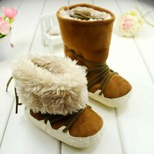 Baby Toddler Shoes Fur Winter Boots Snow Shoes