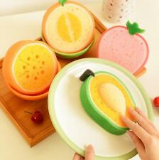 Washing dishes Creative Fruit Kitchen  Lovely Scouring pad Funny Hot Clean cloth