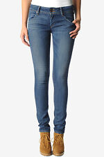 Hudson Faded Collin Skinny Jeans Flap Pocket 25 26 NWT $169 W422DGC-LOW