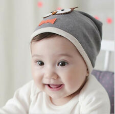 Cute Kids Owl Baby Boy Cotton knit Beanie Hat Cap Soft New Girl 1pcs Hot